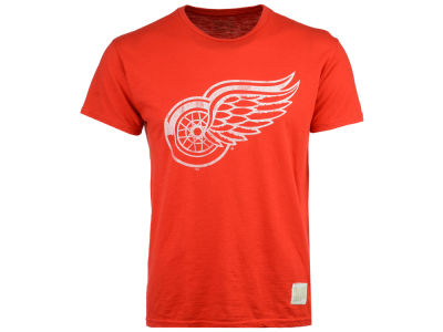 Detroit Red Wings Retro Brand NHL Men's First Line Logo T-Shirt