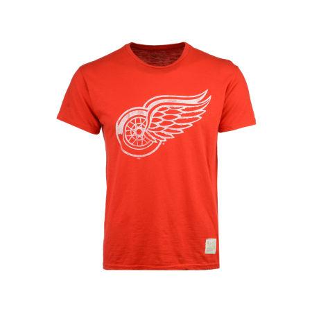 Detroit Red Wings Retro Brand NHL Men's First Line Logo T-Shirt