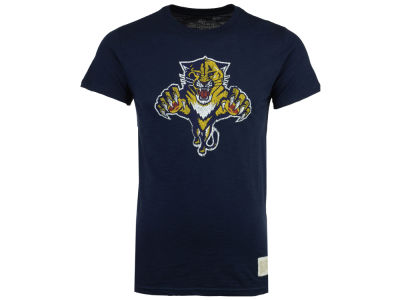 Florida Panthers Retro Brand NHL Men's First Line Logo T-Shirt