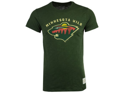 Minnesota Wild Retro Brand NHL Men's First Line Logo T-Shirt