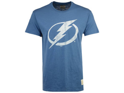 Tampa Bay Lightning Retro Brand NHL Men's First Line Logo T-Shirt