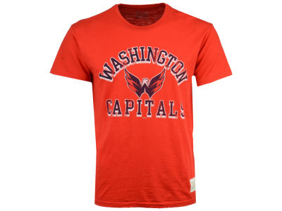 Washington Capitals Retro Brand NHL Men's First Line Logo T-Shirt