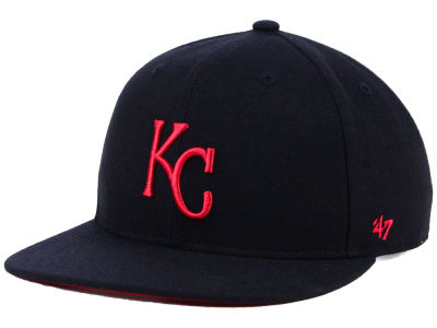Kansas City Royals '47 MLB Kids Black Shot Snapback Cap