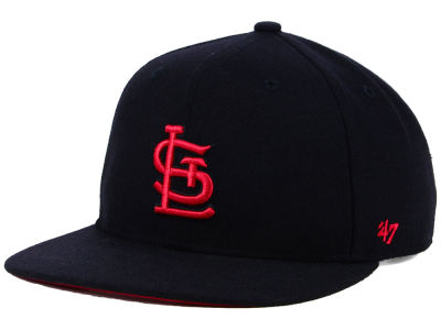 St. Louis Cardinals '47 MLB Kids Black Shot Snapback Cap