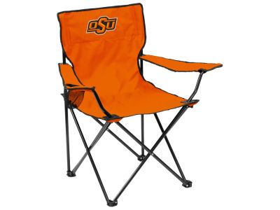 Oklahoma State Cowboys Logo Brands Quad Chair