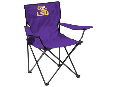 LSU Tigers Logo Brands Quad Chair