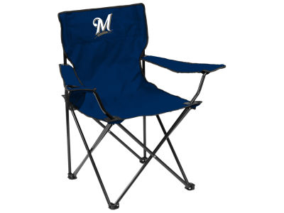 Milwaukee Brewers Logo Brands Quad Chair