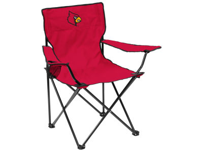 Louisville Cardinals Logo Brands Quad Chair