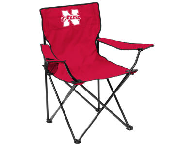 Nebraska Cornhuskers Logo Brands Quad Chair