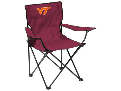Virginia Tech Hokies Logo Brands Quad Chair