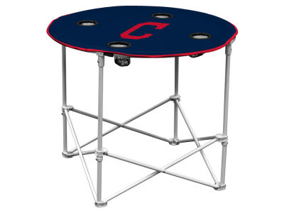 Cleveland Indians Round Folding Table V