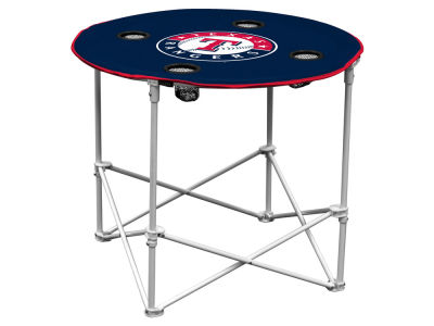 Texas Rangers Logo Brands Round Folding Table