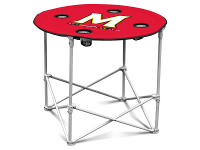 Maryland Terrapins Round Folding Table V