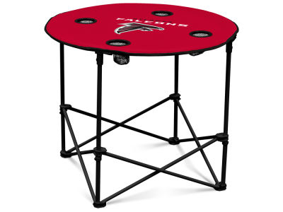 Atlanta Falcons Logo Brands Round Folding Table