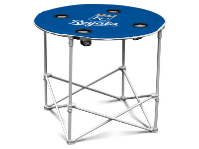 Kansas City Royals Logo Brands Round Folding Table