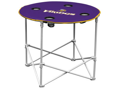 Minnesota Vikings Round Folding Table V
