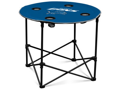 Detroit Lions Round Folding Table V