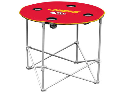 Kansas City Chiefs Round Folding Table V