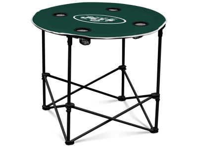 New York Jets Round Folding Table V