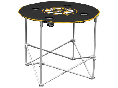 Boston Bruins Round Folding Table V