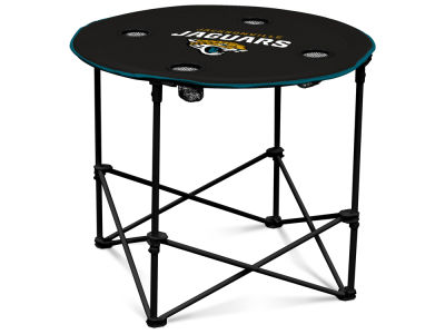 Jacksonville Jaguars Logo Brands Round Folding Table