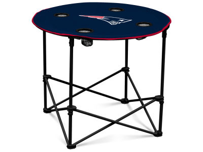 New England Patriots Round Folding Table V