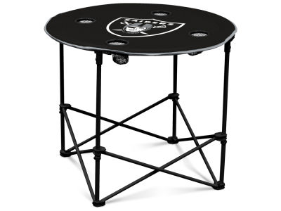 Oakland Raiders Round Folding Table V