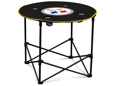 Pittsburgh Steelers Round Folding Table V