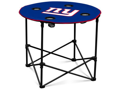 New York Giants Round Folding Table V