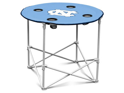 North Carolina Tar Heels Round Folding Table V