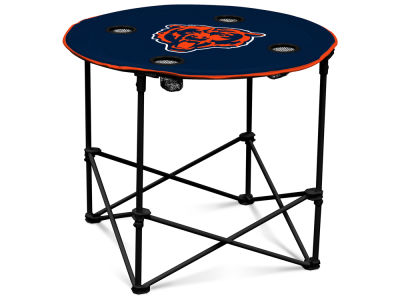 Chicago Bears Round Folding Table V