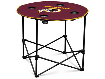 Washington Redskins Round Folding Table V