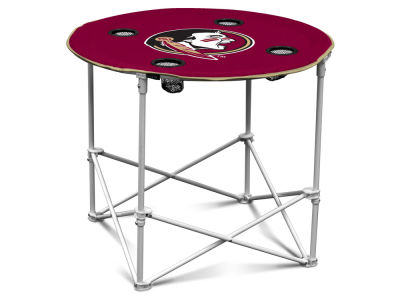 Florida State Seminoles Round Folding Table V