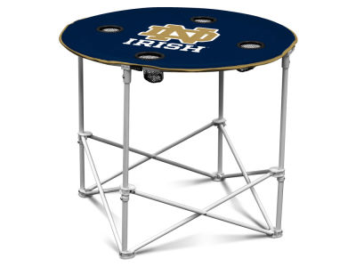 Notre Dame Fighting Irish Round Folding Table V