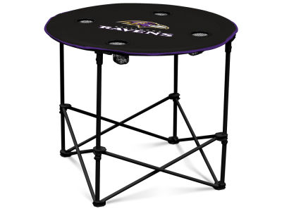 Baltimore Ravens Round Folding Table V