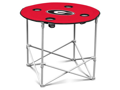 Georgia Bulldogs Round Folding Table V