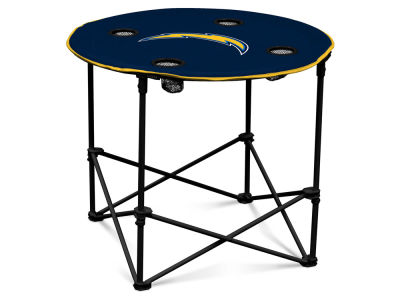 Los Angeles Chargers Logo Brands Round Folding Table