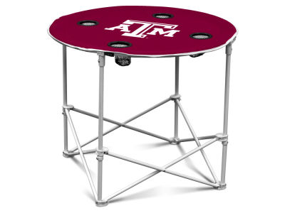 Texas A&M Aggies Round Folding Table V