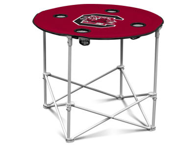 South Carolina Gamecocks Round Folding Table V