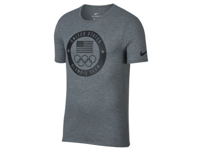 Nike Men's Dri-Fit Olympic Logo T-Shirt