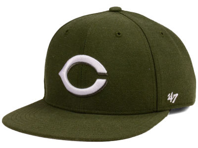Cincinnati Reds '47 MLB Youth '47 Basic Shot Snapback Cap