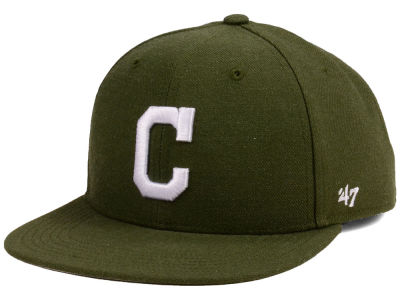 Cleveland Indians '47 MLB Youth '47 Basic Shot Snapback Cap
