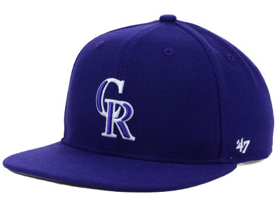 Colorado Rockies '47 MLB Youth '47 Basic Shot Snapback Cap