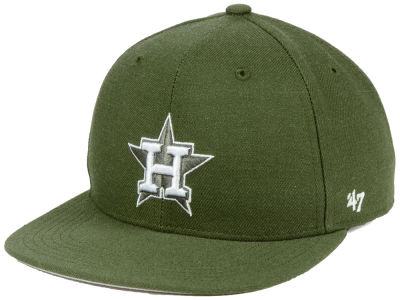Houston Astros '47 MLB Youth '47 Basic Shot Snapback Cap