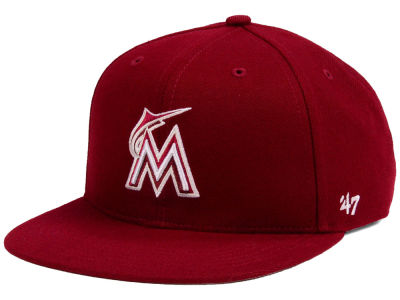 Miami Marlins '47 MLB Youth '47 Basic Shot Snapback Cap