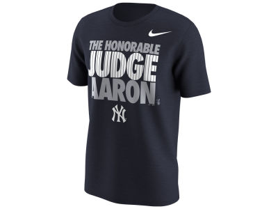 New York Yankees Aaron Judge Nike MLB Men's Honorable Judge T-Shirt