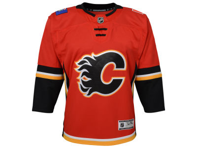 Calgary Flames NHL Kid's Premier Jersey
