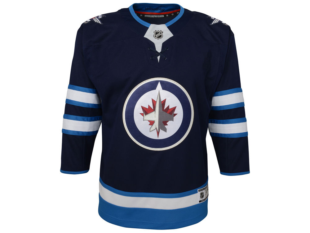 Winnipeg Jets NHL Branded NHL Infant Premier Jersey  af51c85b7f5
