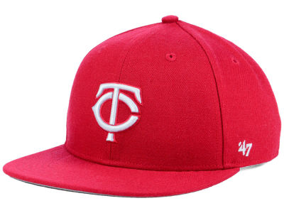 Minnesota Twins '47 MLB Youth '47 Basic Shot Snapback Cap