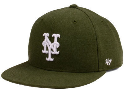New York Mets '47 MLB Youth '47 Basic Shot Snapback Cap
